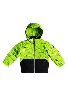 Quiksilver Edgy Waterproof Hooded Faux Fur Jacket (Toddler Boys & Little Boys)