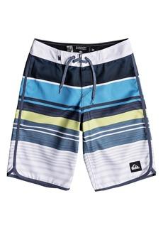 Quiksilver Eye Scalloped Board Shorts (Big Boys)