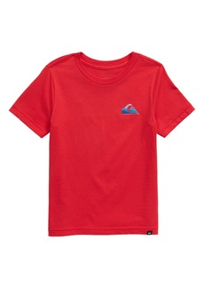 Quiksilver Familiar Fire Logo Graphic Tee (Toddler & Little Boy)