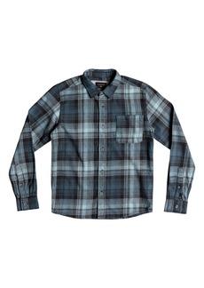 Quiksilver Fatherfly Plaid Woven Shirt (Big Boys)