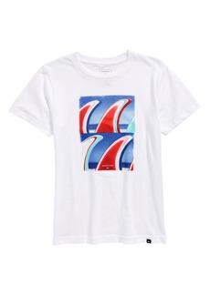 Quiksilver Fin Finatic Graphic T-Shirt (Big Boys)