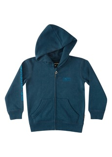 Quiksilver Flankin Logo Graphic Zip Hoodie (Toddler & Little Boy)