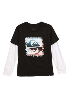 Quiksilver Flip Out Graphic T-Shirt (Toddler Boys & Little Boys)