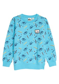 Quiksilver Flip Snacking Crewneck Sweatshirt (Toddler & Little Boy)