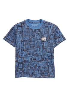 Quiksilver Flip Snacking Graphic Tee (Toddler & Little Boy)
