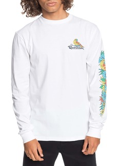 Quiksilver Flying Fortress Long Sleeve Graphic Tee