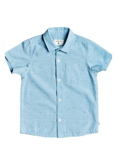 Quiksilver Fruber Way Button-Up Shirt (Toddler & Little Boy)