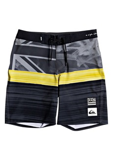 Quiksilver Highline Hawaii Blocked Board Shorts (Big Boys)