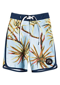 Quiksilver Highline Salty Palms Swim Trunks (Toddler Boys & Little Boys)