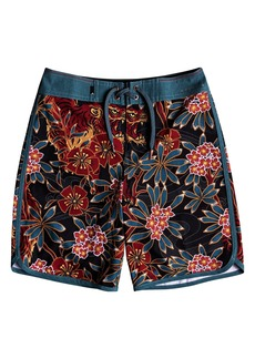 Quiksilver Highline Silent Fury Board Shorts (Big Boys)