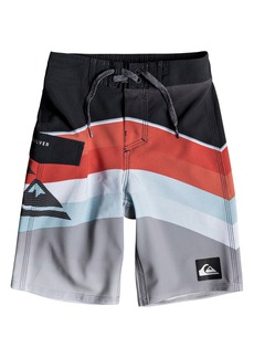 Quiksilver Highline Slab Print Board Shorts (Toddler Boys & Little Boys)