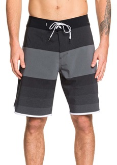 Quiksilver Highline Tijuana Stripe Board Shorts