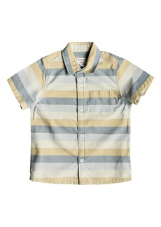 Quiksilver Hotel Diva Stripe Woven Shirt (Toddler Boys & Little Boys)