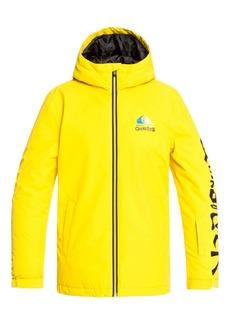 Quiksilver In The Hood Waterproof Hooded Jacket (Big Boys)