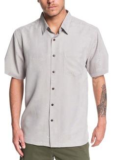 Quiksilver Kelpies Bay Regular Fit Short Sleeve Button-Up Shirt