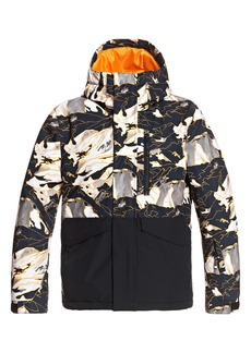 Quiksilver Kids' Mission Waterproof Hooded Snow Jacket (Big Boy)