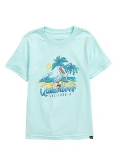 Quiksilver Kids' Pelican Beach Graphic Tee (Toddler & Little Boy)