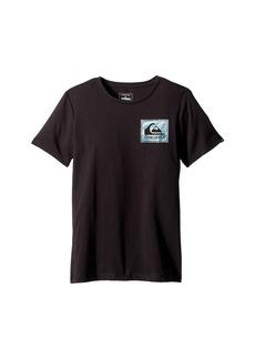 Quiksilver Short Sleeve Anti UV Volcano Blues Tee (Big Kids)