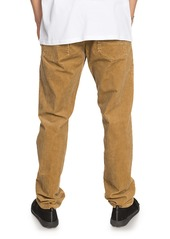 Quiksilver Kracker Straight Fit Corduroy Pants