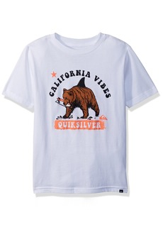 Quiksilver Little Boys' Cali Bear Shark Youth Tee Shirt