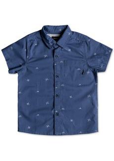 Quiksilver Little Boys Fuji Woven Cotton Shirt