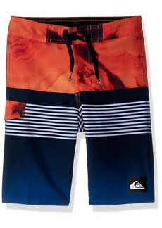 Quiksilver Little Boys' Highline Lava Division Kids Swim Trunks