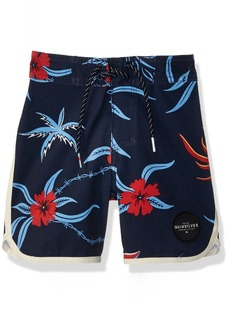 Quiksilver Little Boys' Highline trespasser Kids Swim Trunks