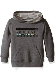Quiksilver Little Boys' In The Zone Pull Over Hoodie Medium Grey Heather