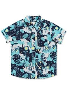 Quiksilver Little Boys Jungle Weekend Short-Sleeve Shirt