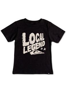 Quiksilver Little Boys Local Legend Graphic Cotton T-Shirt