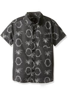 Quiksilver Little Boys' Tropkill Shirt Ss Youth Woven Top