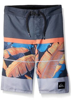 Quiksilver Little Boys' Slab Island Kids Swim Trunks