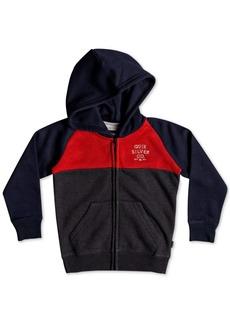 Quiksilver Toddler Boys Colorblocked Fleece Zip-Up Hoodie