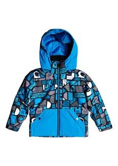 Quiksilver Little Mission Waterproof Hooded Jacket (Toddler Boys & Little Boys)
