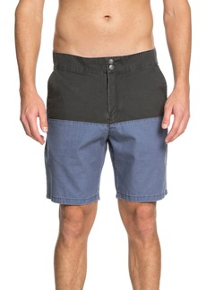 Quiksilver Mad Wax Block Shorts