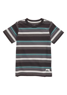 Quiksilver Maio Boarder Stripe T-Shirt (Toddler & Little Boy)