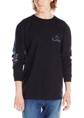 Quiksilver Men's 3 Dee Long Sleeve T-Shirt