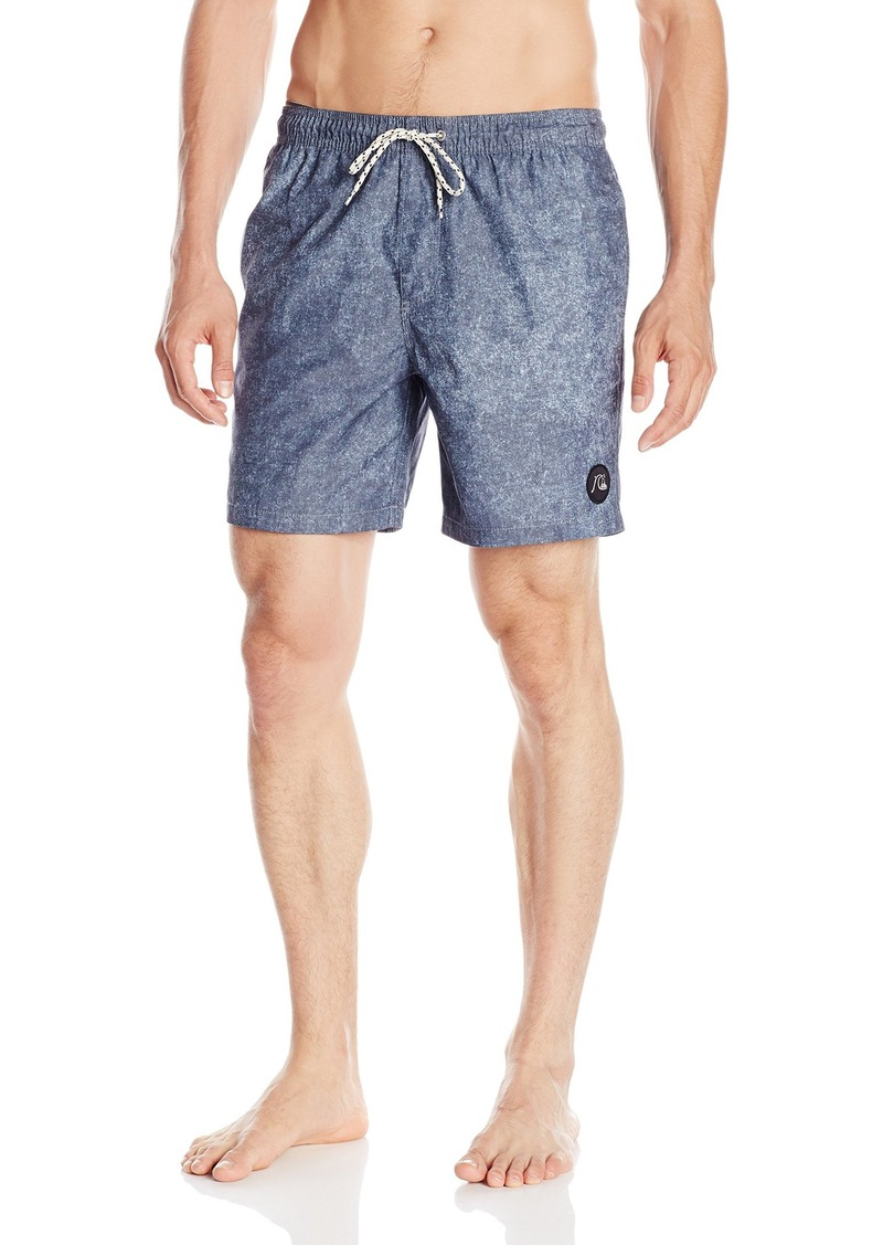 Quiksilver Men's Acid Print 17 Inch Volley Boardshort Swim Trunk
