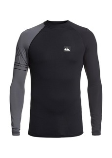 Quiksilver Men's Active Long Sleeve Rashguard