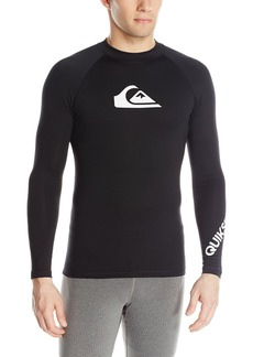 Quiksilver Men's All Time Long Sleeve Surf Tee Rashguard  X-Small