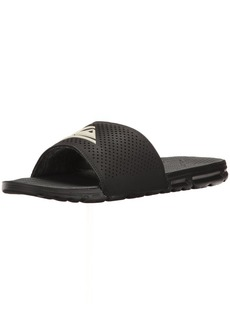 Quiksilver Men's Amphibian Slide Sandal Black/White