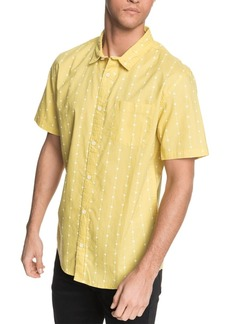 Quiksilver Men's Barbed Short Sleeve Shirt