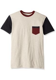 Quiksilver Mens Baysic Pocket T-Shirt