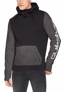 Quiksilver Men's Big Logo TECH Hoodie Fleece Jacket  M