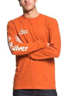 Quiksilver Men's Bouncing Heart Long Sleeve T-Shirt