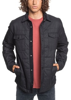 Quiksilver Men's Broken Nose Quilted Over Shirt