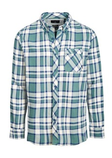 Quiksilver Men's Burnsfield Plaid Flannel Shirt