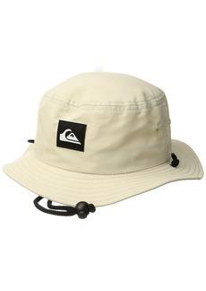 Quiksilver Men's Bushmaster Sun Protection Bucket Hat  L/XL