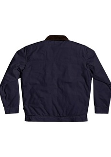 Quiksilver Men's Canvas Cord Collar Jacket