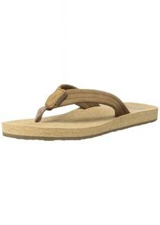 Quiksilver Men's Carver Cork Sandal Brown 8 M US